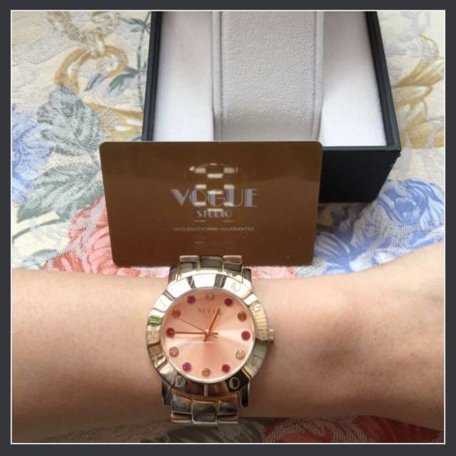 VOGUE玫瑰金手錶#我有手錶要賣