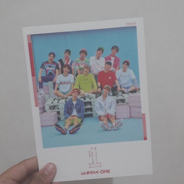 Wanna One To Be One Cover Album