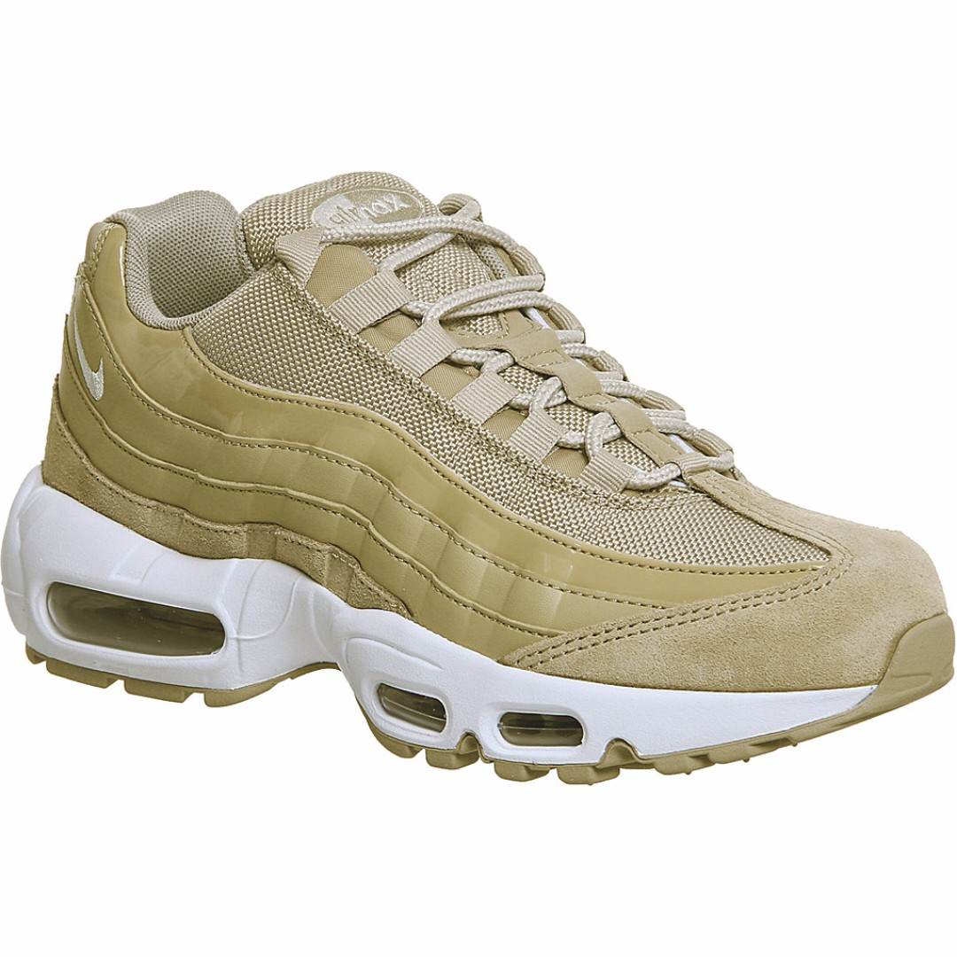 WOMEN  NIKE Air Max 95 leather and mesh trainers 15c2d9b62f