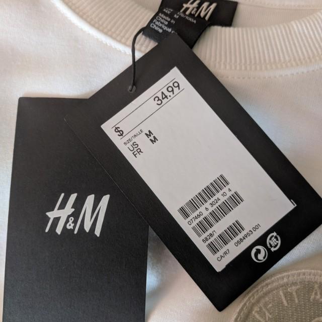 XO x H&M crewneck