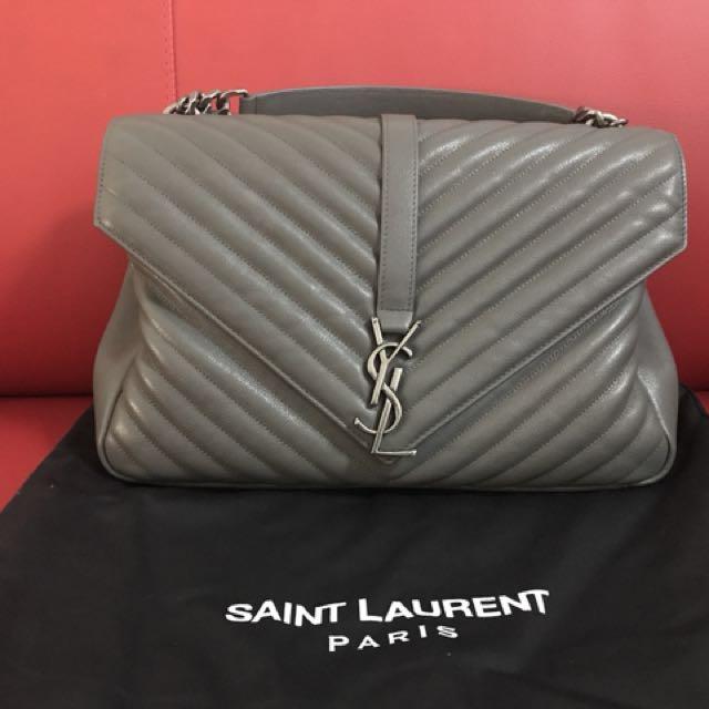 ee102e459c15 Ysl Large Monogram Quilted Leather Shoulder Bag Luxury