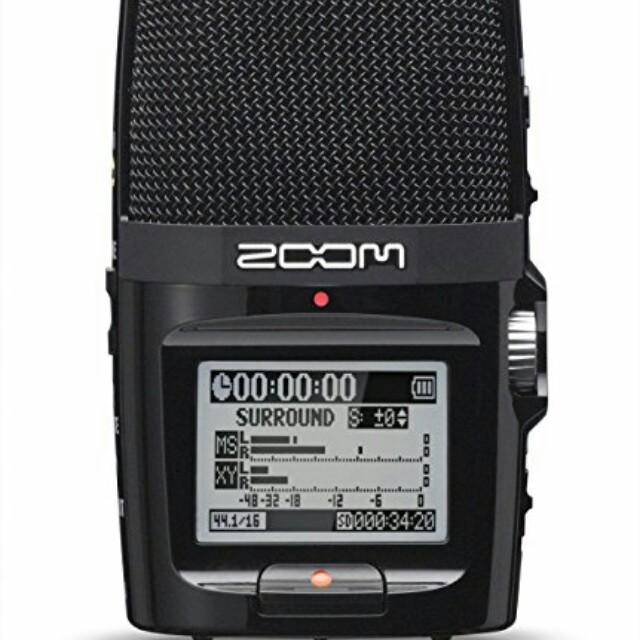 Zoom H2N Audio Recorder