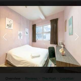 No Owner short term Private en-suite ($80 onwards)
