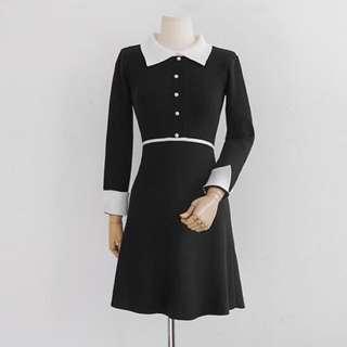 韓國品牌blue label連身裙(2色)