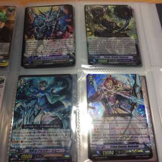 Vanguard cards part 3