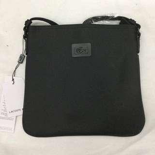 SUPER SALE!! Lacoste Rubber Logo Sling Bag