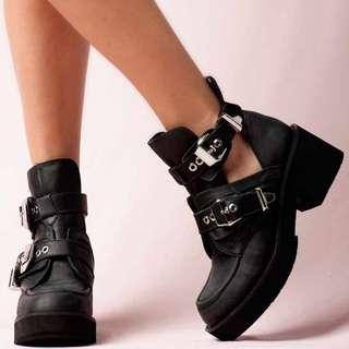 Jeffrey Campbell boots shoes size 39