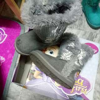 Sofia the First Fur Boots from PAYLESS