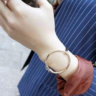 Metal Ring Bangle/ Bracelet