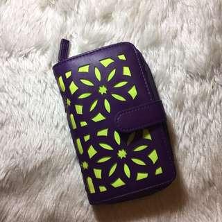Riviera Violet Wallet
