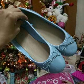 Blue SOLEMATE Flats
