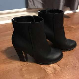 Call It Spring Black Ankle Booties