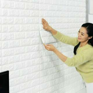 Wallpaper sticker impor premium quality bahan tebal