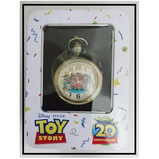 Toy Story 20th Anniversary 景品 陀錶 ~4.5cm