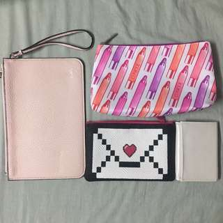 Makeup Bags, Small Wallet, Envelope Bag