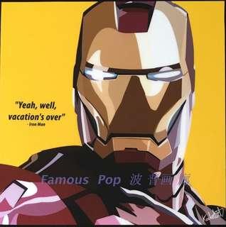 全新 FamousPop 普普藝術 肖像掛畫 Marvel DC 超級英雄
