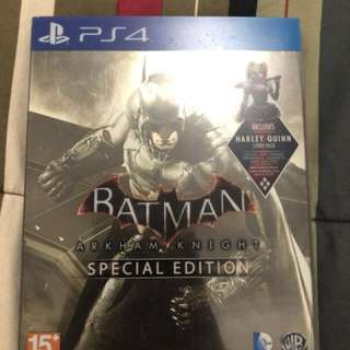 BD PS4 Batman arkham knight special edition steelcase