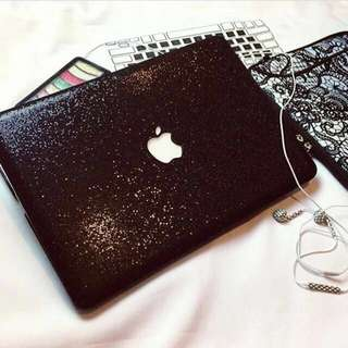 GLITTERED MACBOOK CASE