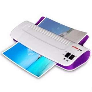 Laminator A4 Size Machine  (Purple)
