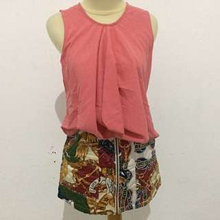 ALL 200k Moschino Skirt & Top