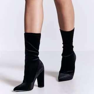 Velvet Ankle Boots [SALE!!]