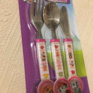 Paw Patrol Cutlery From UK