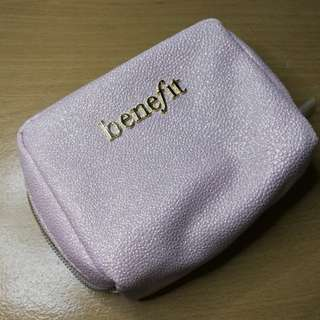 Benefit make up pouch. Unused