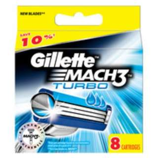 $20 Gillette Mach 3 Cartridge Refills X8