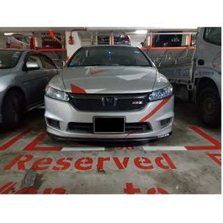 Honda Stream installed Samurai Lip! Price including installation!