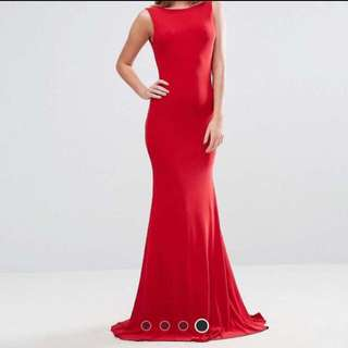 REDUCED PRICE! RED FORMAL DRESS