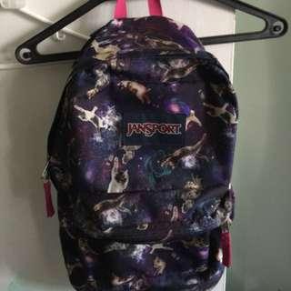 Jamsport Galaxy print backpack
