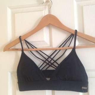Roxy Black Bikini Top