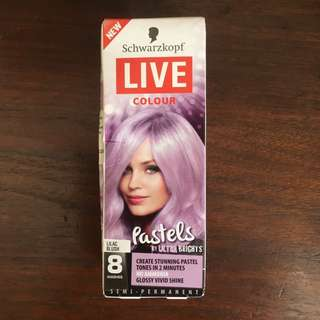 FREE GIFT #1 with any purchase: SCHWARZKOPF Live Colour Pastel Lilac Blush