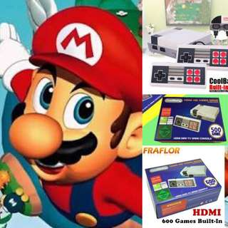 HDMI MINI GAME CONSOLE HDMI 600 NES GAMES BUILT IN BRAND NEW MANY AVAILABLE