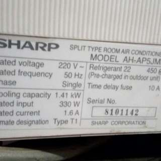 AC sharp 1,5 PK