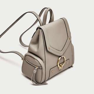 Zara backpack with front ring