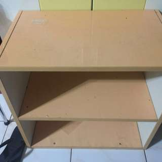 2 layer open cabinet