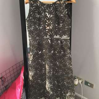 My Keeper black lace dress