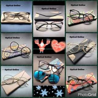 聖誕🎄網上優惠👋抗藍光加防紫外光鏡片👋超輕鏡架連鏡片完美組合💁🏻♀️