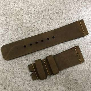 Calf Leather Watch Strap 24MM