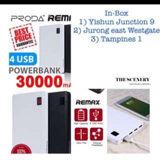 Remax 30000Mah Powerbank Proda