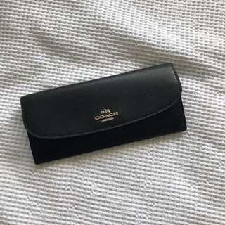 Coach black Fold wallet