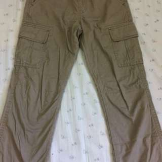 Cargo pants (gingersnaps and uniqlo)