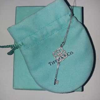 Tiffany Key-Custom Diamond Necklace