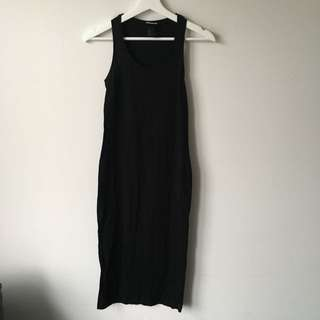 Hm H&M midi dress size 2 xs