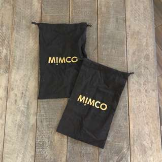MIMCO DUST BAGS | NEW