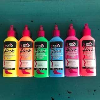 Fabric Paint - Neon Colors