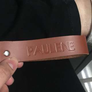 Personalized embossed keychains