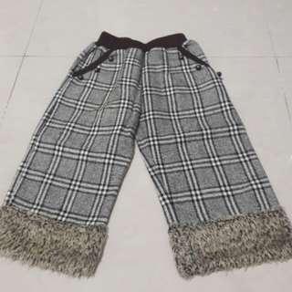 復古風 女童褲,適合約100-110公分穿
