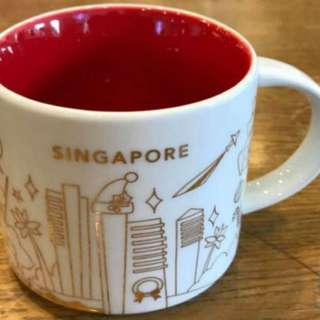 Starbucks YAH Christmas Mug (Singapore)